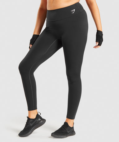Shop Gymshark Training Leggings - Black From GS | AROS