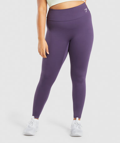 Shop Gymshark Training Leggings - Purple From GS | AROS