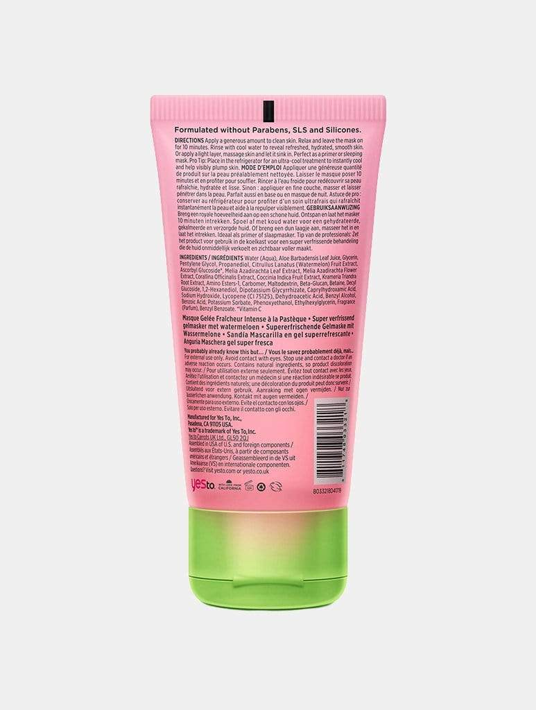 Shop Yes to Watermelon Super Fresh Jelly Mask From SDL | AROS
