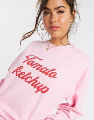 Shop Tomato Ketchup Sweatshirt From SDL | AROS