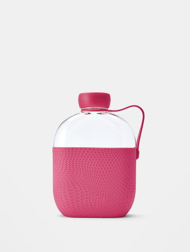 Shop Hip Hot Pink Water Bottle 650ml From SDL | AROS