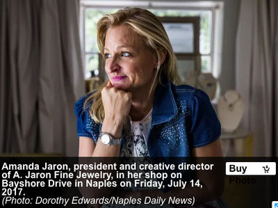 Naples Daily News - Bayshore Artist in the Bayshore Arts District 2017 article