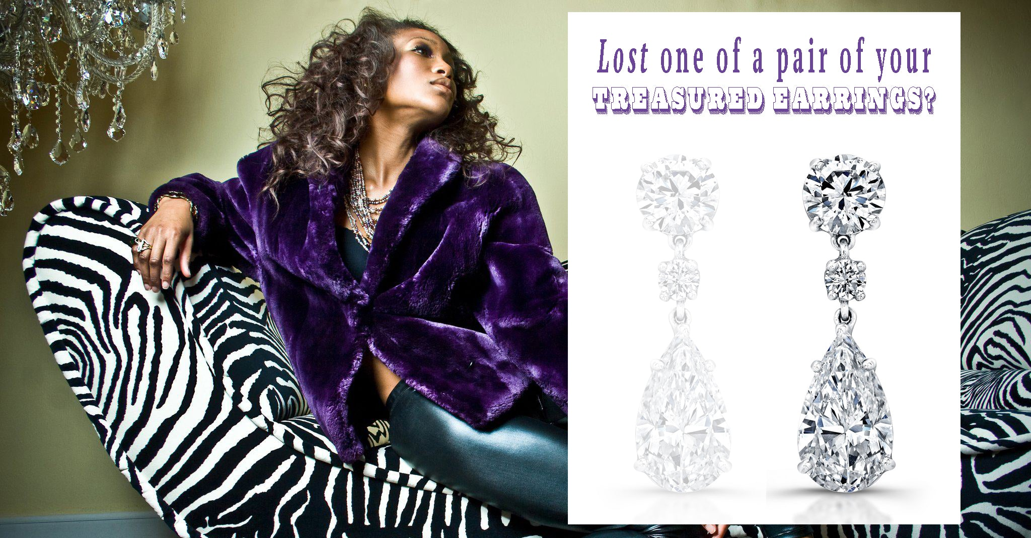 Kamla Mckenzie for A JARON fine jewelry