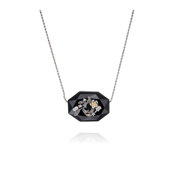 LUSH Signature Onyx Necklace