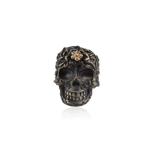 Skull Flower Forehead Ring