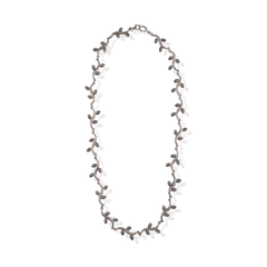Leaf Sterling Silver Chain Necklace
