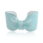 Aqua Candy Ribbon Cuff