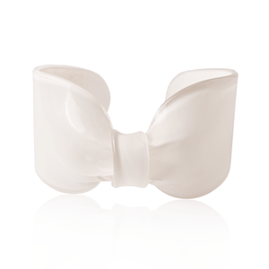White Candy Ribbon Cuff