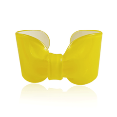 Yellow Candy Ribbon Cuff