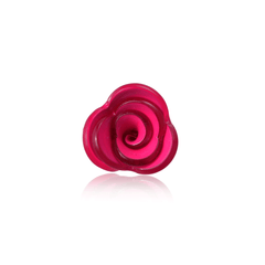 Bright Pink Lucite Floral Boutonniere