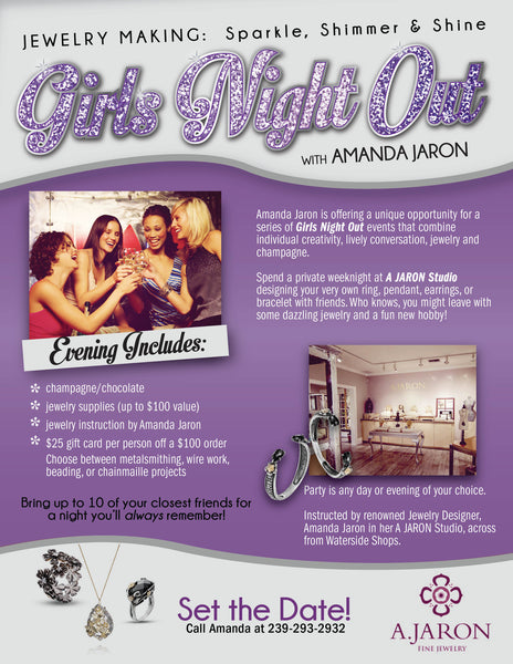 Girl's Night Out- Private Event at A.JARON Studio