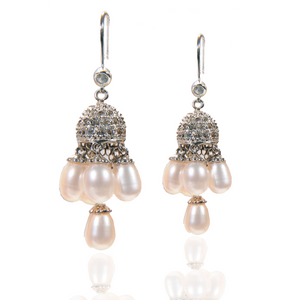 Freshwater Pearl Chandellier Drop Earrings