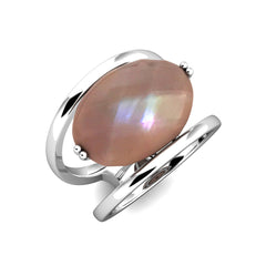 Unparalleled Ring in Blush Pink Mother of Pearl