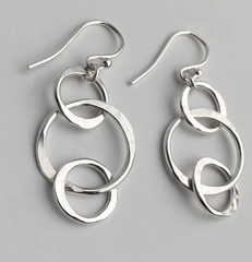 Metalsmithing Workshop -Beginner - Make Your Own Sterling Silver Earrings