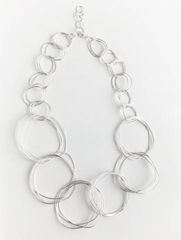 Beginner Metalsmithing Workshop: Make Your Own Sterling Silver Loopy Necklace
