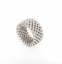 Load image into Gallery viewer, SERAFINO CONSOLI - WHITE Gold- WHITE Diamonds -RMS 7F2 WG WD