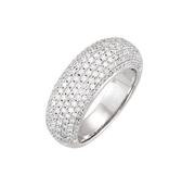 Pave' Dome Ring