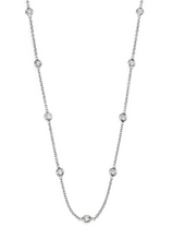 Load image into Gallery viewer, 10 Stone Forever Diamond Necklace