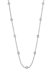 10 Stone Forever Diamond Necklace