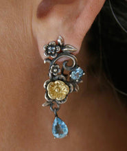 Load image into Gallery viewer, LUSH Bouquet Drop Earring