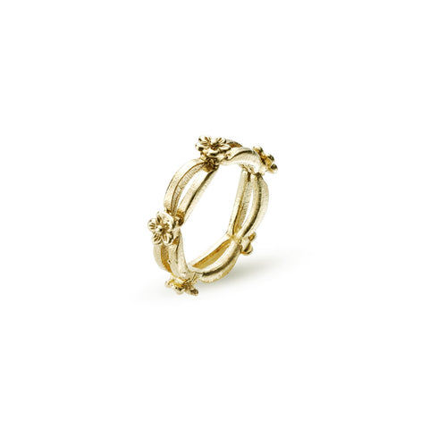 Floral Daisy Chain Ring