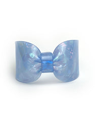 Candy Ribbon Cuff  Bracelet Light Blue Opal