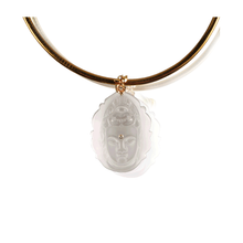 Load image into Gallery viewer, Buddha Pendant Collar Necklace