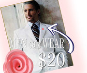 Light Pink Lucite Floral Boutonniere-Breast Cancer