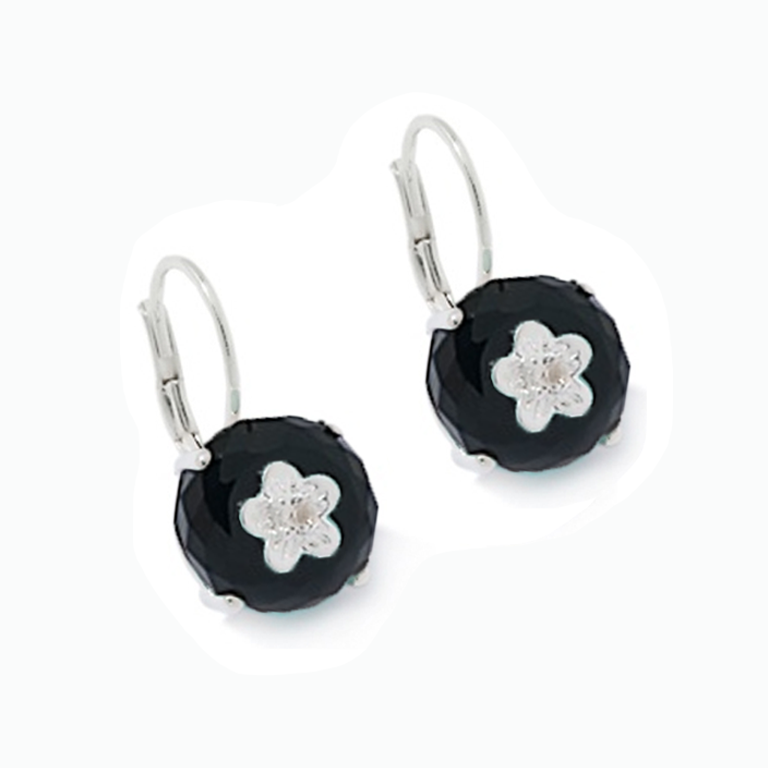 Onyx Bon Bon Earrings