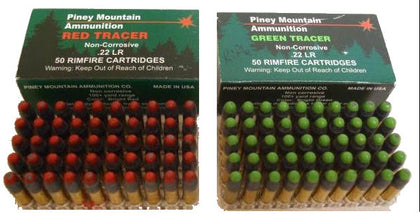 Piney Mountain Tracer Ammo Combo Package