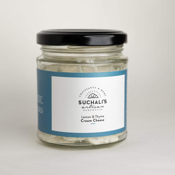 Lemon & Thyme Cream Cheese - 180g - Suchalis Artisan Bakehouse