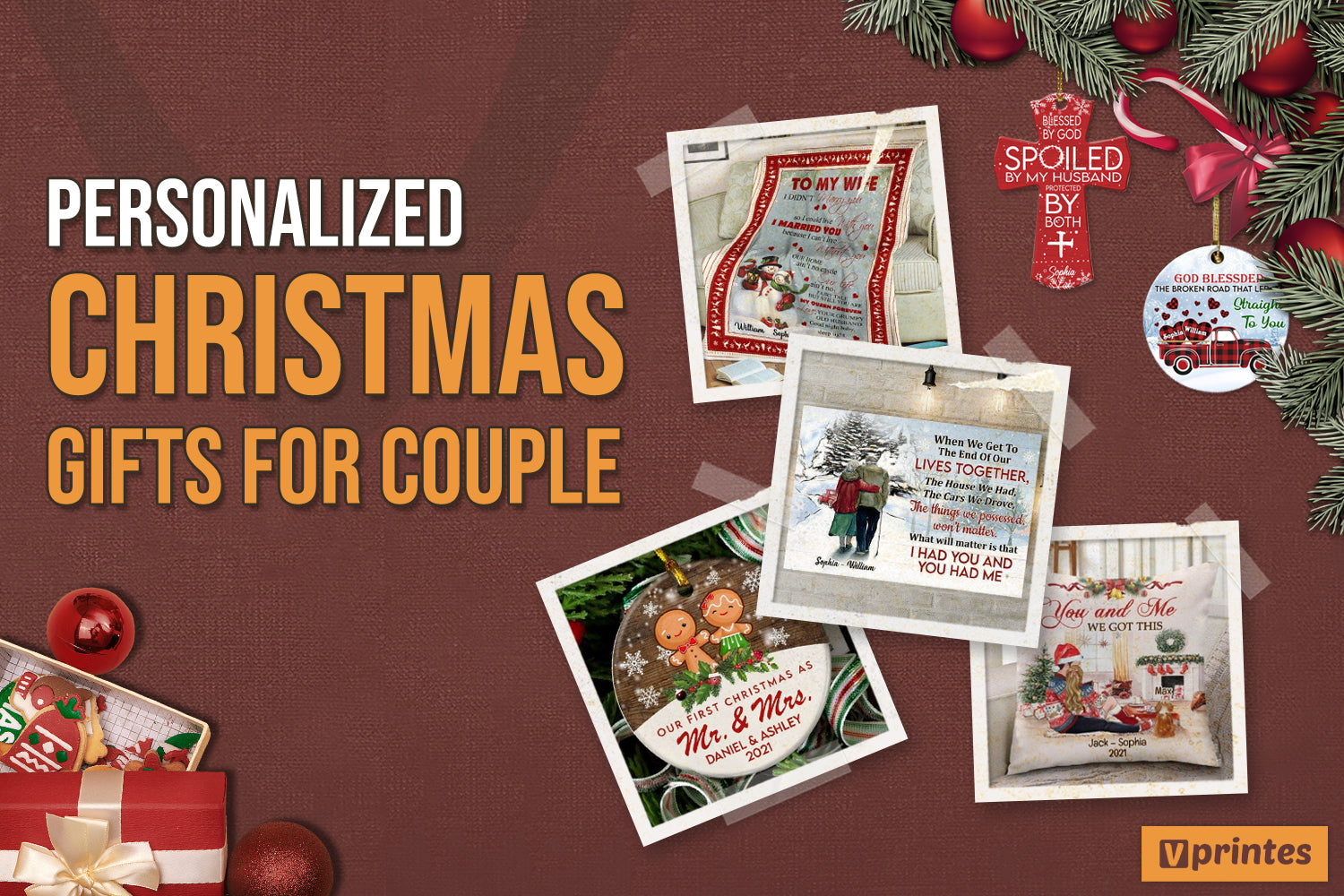 Personalized Christmas Gifts For Couple