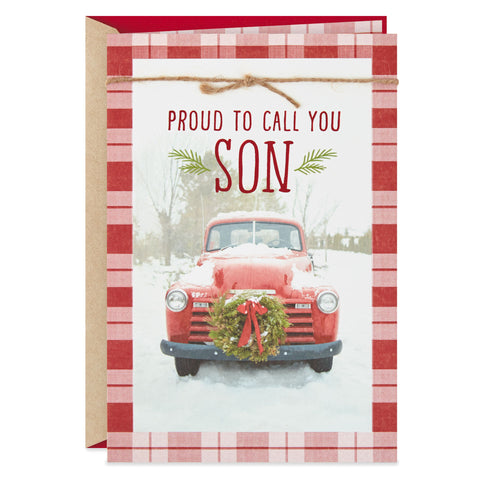 Personalized Vintage Christmas Card