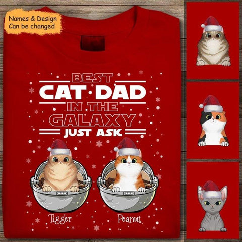 Star Wars Cat Dad Personalized Sweater & Shirt For Christmas