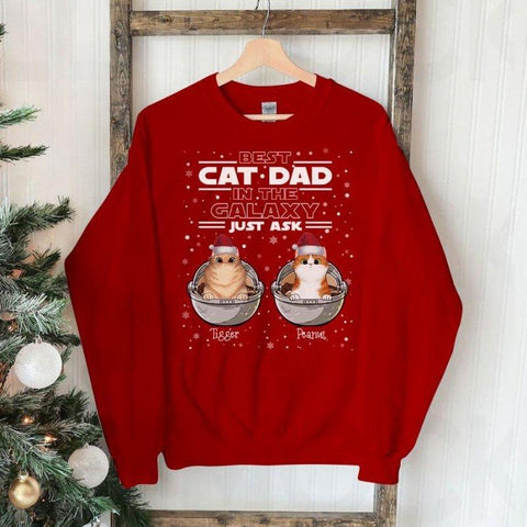 Star Wars Sweater For Cat Lovers