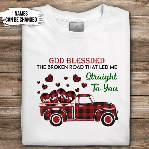 The Broken Road Led Me To You Shirt
