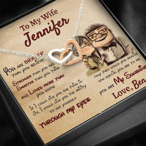To My Wife Necklace