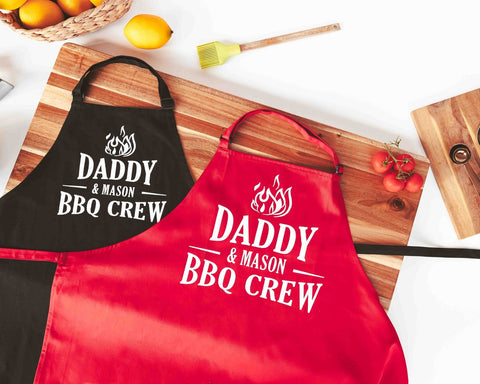 Father And Son BBQ Grill Apron