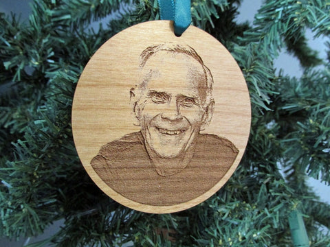 Memorial Your Loved One Personalized Photo Ornament