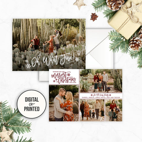 Personalized Christmas Cards With Photo