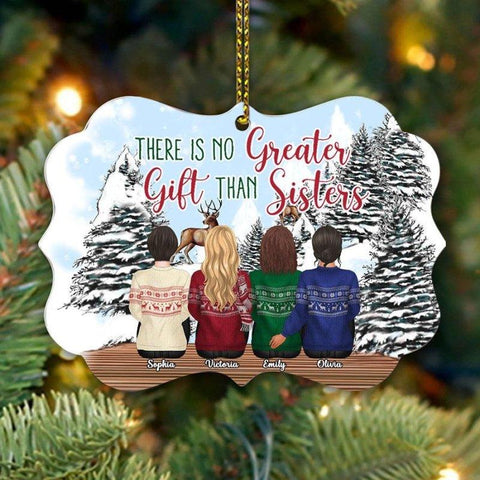 No Greater Gift Than Sister Ornament