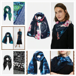 Spanish Print Scarf Shawl Photo Gifts