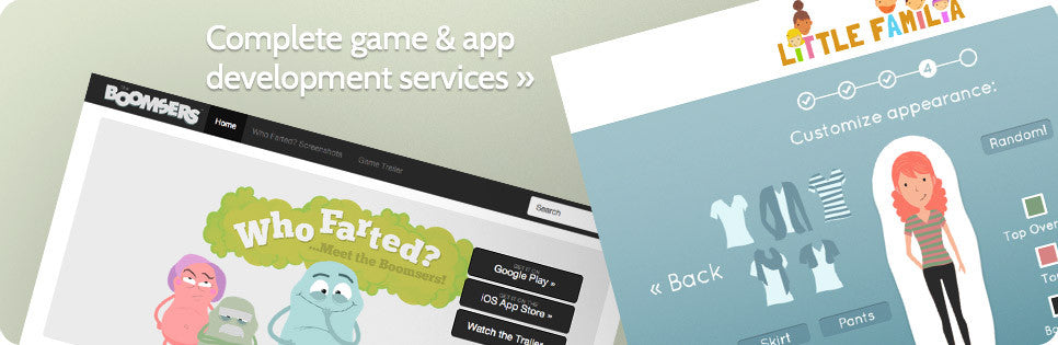 Complete game and app development services