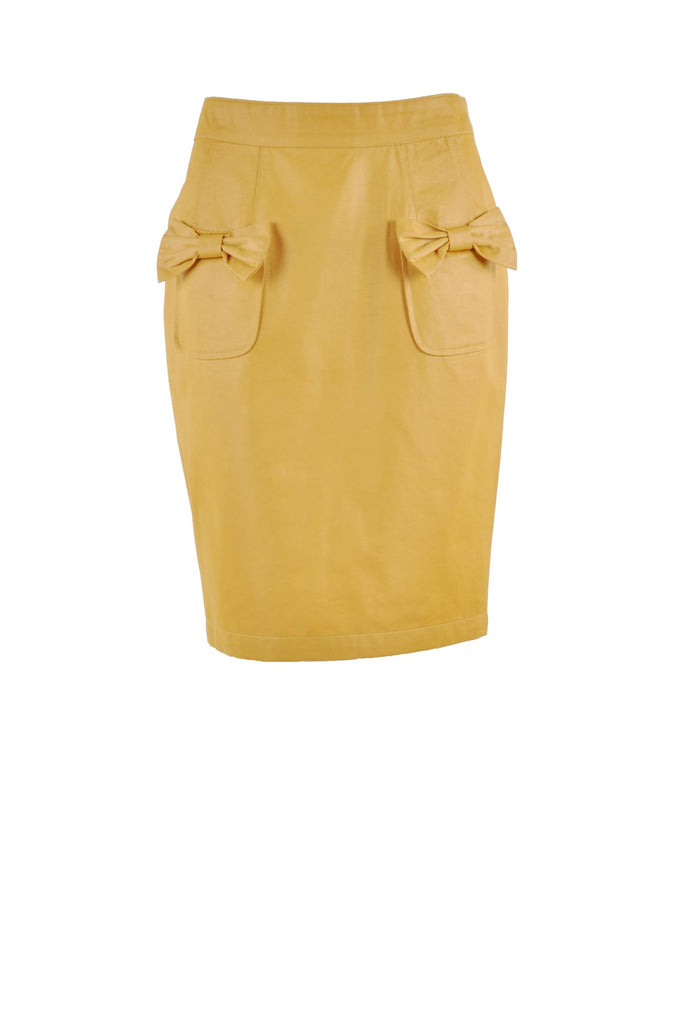 Bow Tie Yellow Skirt # KN-0299