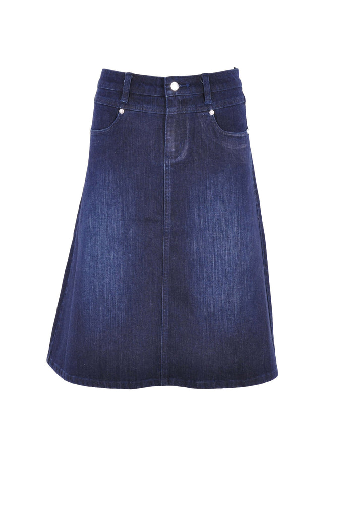 Simply Me Denim Skirt # KN-0581