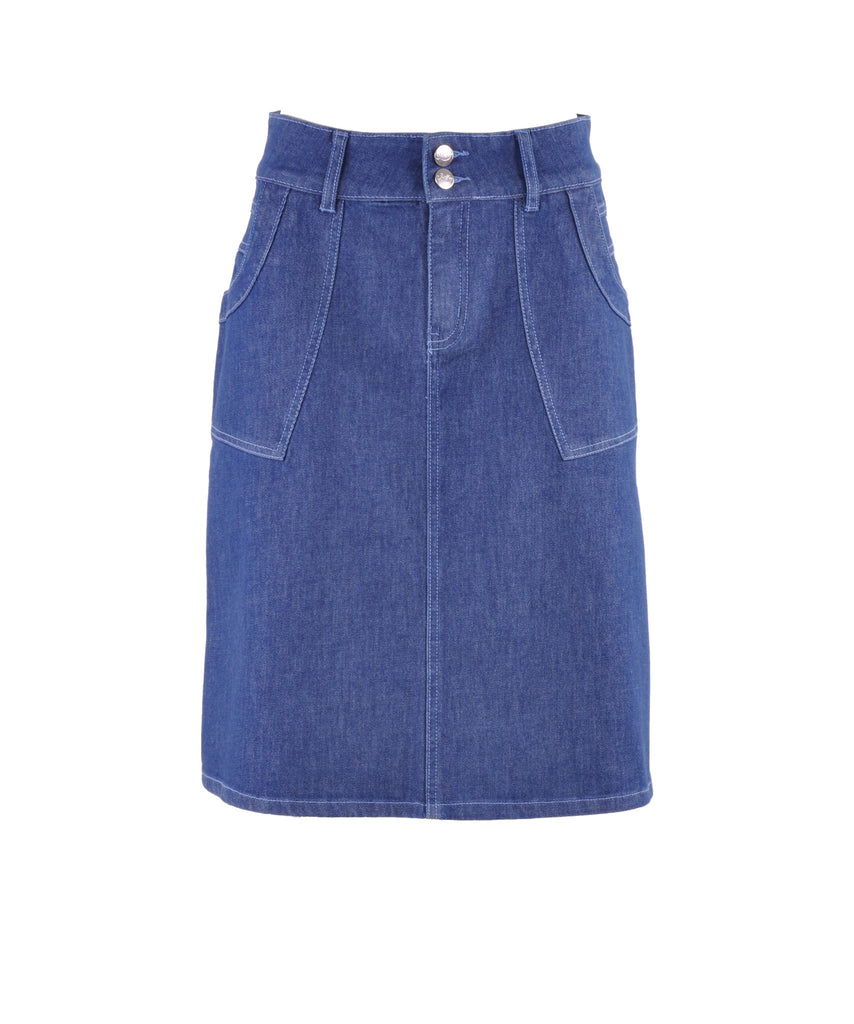 Simple Days Jean Skirt # KN-0594