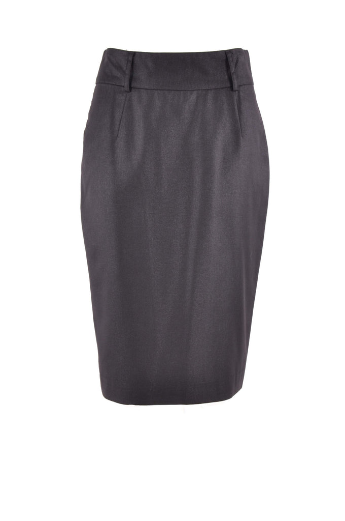 Professional Black Pencil Skirt # KN-0304D