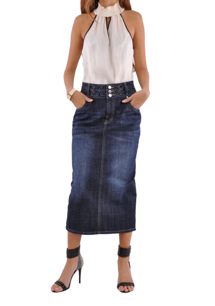 plus size skirts | style j fashion for women's denim skirts