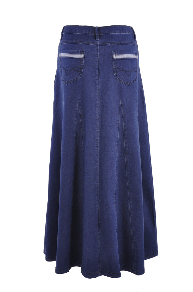 Effortless Beauty Denim Skirt # PE-0599