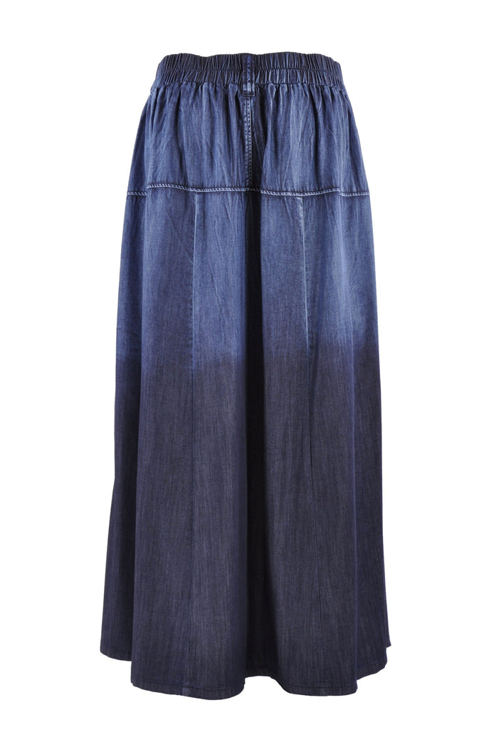 Chambray Chic Denim Skirt # PE-0609